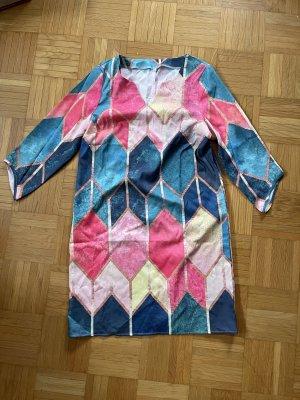 keine Marke Tunic Dress multicolored polyester