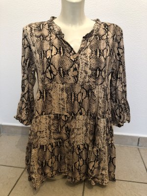 Tunic Dress black-sand brown