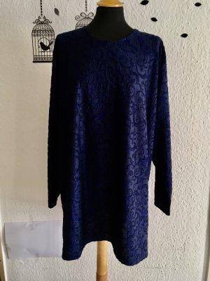 Sweter kimono ciemnoniebieski