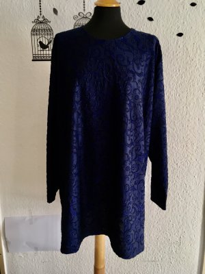 Felpa kimono blu scuro