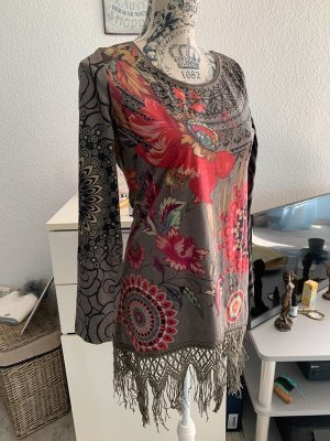 101 Idees Robe tunique multicolore