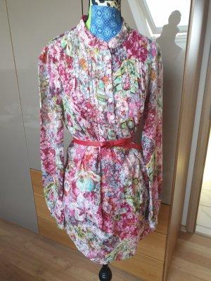 Only Vestido tipo túnica multicolor