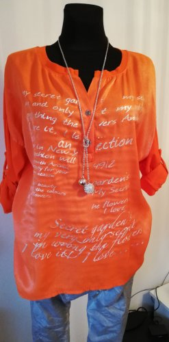Made in Italy Tunic orange