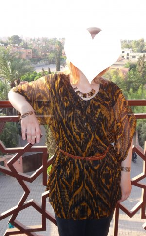 Tunika mit Animalprint