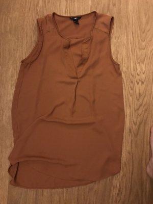 H&M Tuniek donker oranje-roodbruin