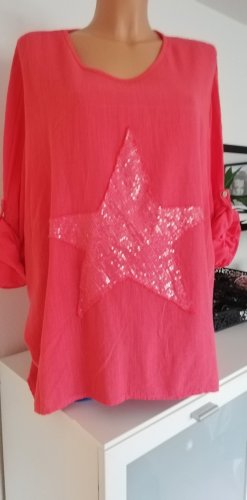 Made in Italy Tunic salmon