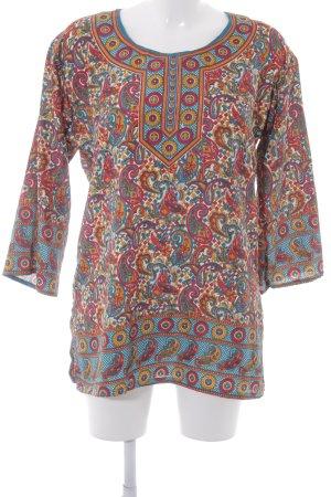 Tunika mehrfarbig Casual-Look