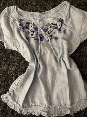 s.Oliver Blusa de túnica azul celeste