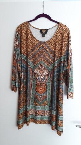 Sarah Kern Camicia a tunica multicolore