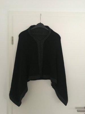 keine Marke bekannt Cardigan en maille fine noir