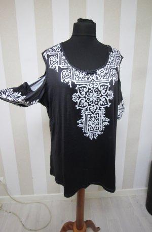 Tunique blanc-noir