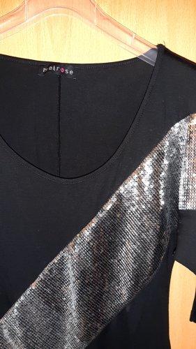 Melrose Hemdtuniek zwart-zilver
