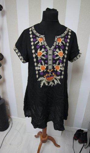 Tunika Shirt Top Blumen