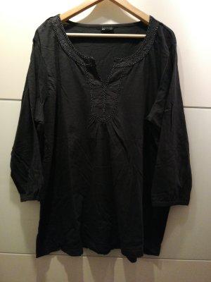 Laura Torelli Camisa tipo túnica azul oscuro