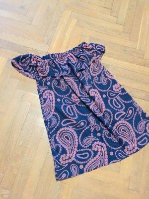 Atmosphere Robe d'été bleu-rose viscose