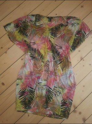 Tunika Strand H&M Palmen-Print Gr.34/36 Sommer zum Bikini