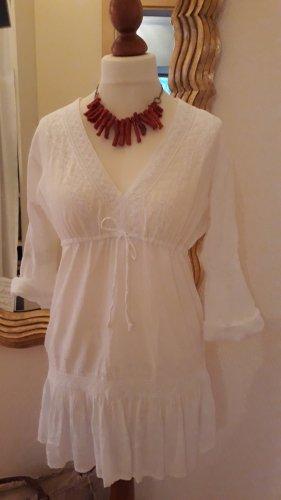 Sukienka tunika biały