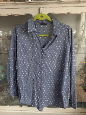 C&A Basics Long Sleeve Blouse neon blue-steel blue