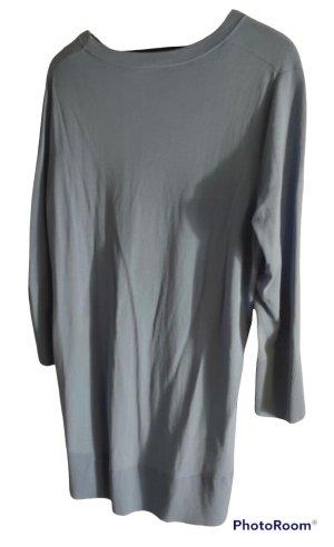 COS Blusa de túnica azul claro-azul aciano