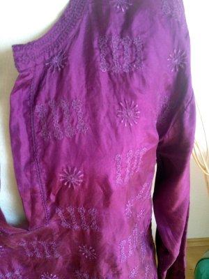 DAY Birger et Mikkelsen Long Blouse purple silk
