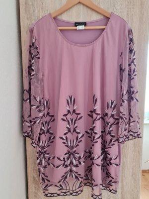Casacca rosa chiaro-lilla