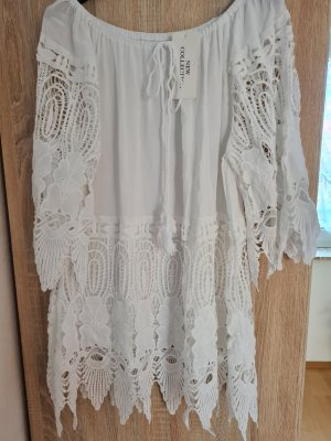 new collection Tunic white
