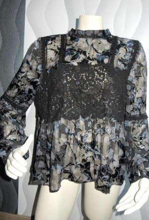Topshop Silk Blouse multicolored