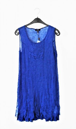 Yest Tunic Blouse blue polyester