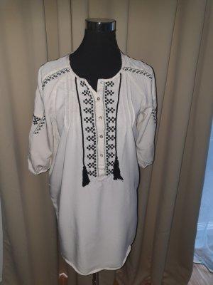 Zara Tunic white-black