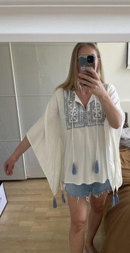 Tunika weiß /blau