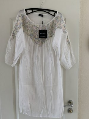 Tunic Blouse white cotton