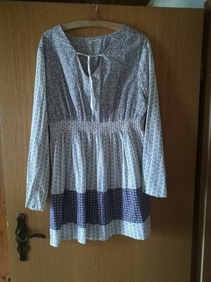 Boysen's Bluzka tunika jasnobeżowy Bawełna
