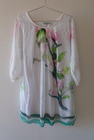 Bleifrei Zijden blouse veelkleurig Viscose