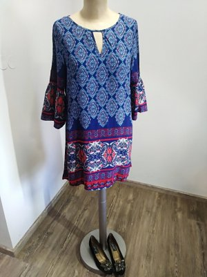 Tunic red-blue