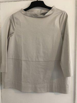 COS Tunique-blouse gris clair coton