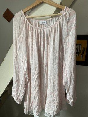 Gina Benotti Tunic Blouse white-light pink