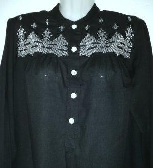 Sudadera navideña negro-blanco tejido mezclado