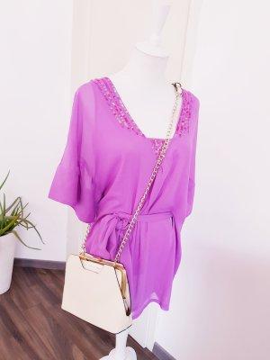 3 Suisses Vestido tipo túnica lila