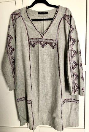 Antik Batik Tunic Dress multicolored cotton