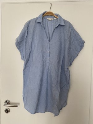 Tunikakleid blau logg H&M Strandkleid oversize