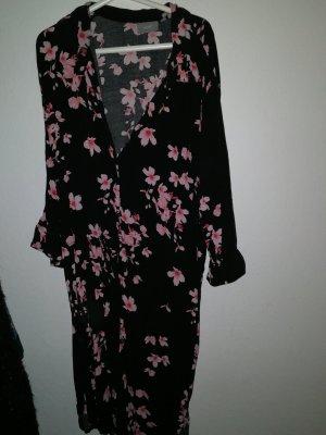 B.young Sukienka tunika czarny-różany