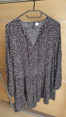 H&M Divided Tunic Dress white-black