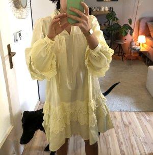 Tunikakleid, Hemdkleid, Gelbes Kleid
