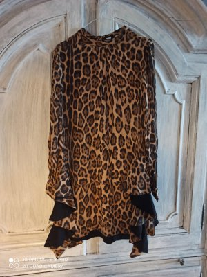 Twinset Vestido tipo túnica camel