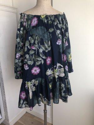 Tunikakleid mit wunderschönen Blumen Druck von Twin Set