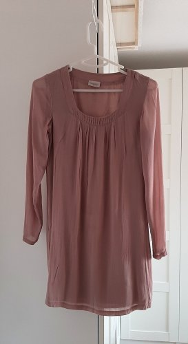 Bon'a Parte Tunic Dress mauve viscose