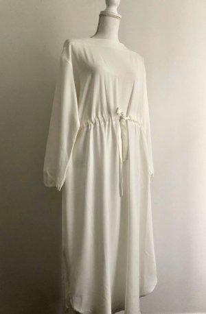 Mango Suit Robe longue blanc-blanc cassé