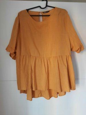 Sheinside Shirt Tunic gold orange