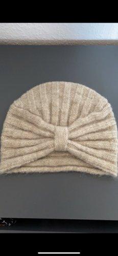 H&M Cappello in tessuto beige chiaro