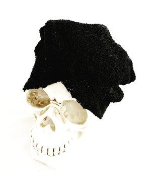 Vintage Chapeau en tricot noir